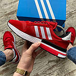 Мужские кроссовки Adidas (красные) 404PL, фото 2