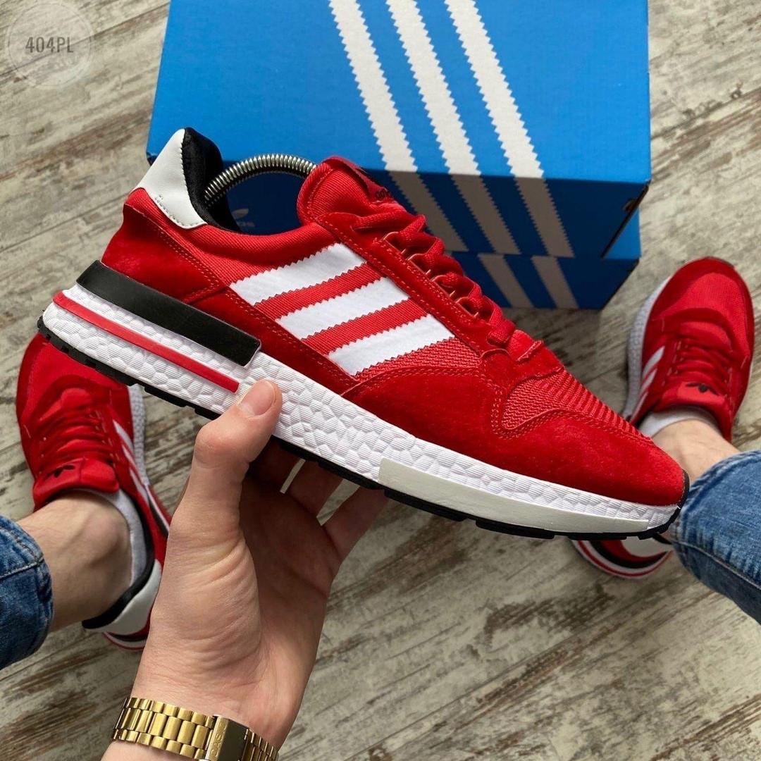 Мужские кроссовки Adidas (красные) 404PL