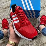 Чоловічі кросівки Adidas (червоні) 404PL, фото 3