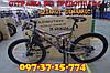 ✅ Горный Двухподвесный Велосипед Azimut Dinamic 26 D Рама 18,5 Серо-Синий, фото 8