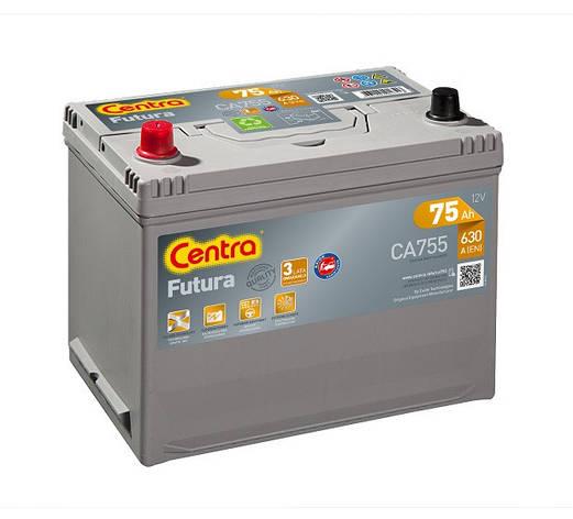 Centra Futura CA755 75Ah 630A Аккумулятор автомобильный, фото 2