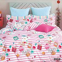 Комплект постельного белья ранфорс 20115