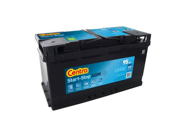 CENTRA CK950 START-STOP AGM 95AH 850A  Аккумулятор автомобильный, фото 2
