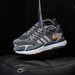 Чоловічі кросівки Adidas Nite Jogger (темно-сірі) D3, фото 3