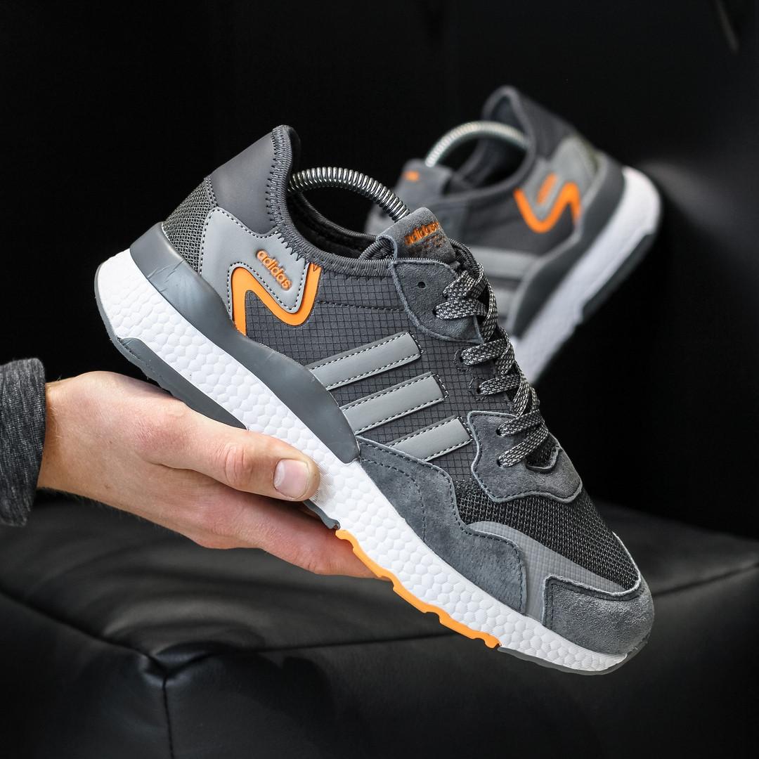 Чоловічі кросівки Adidas Nite Jogger (темно-сірі) D3