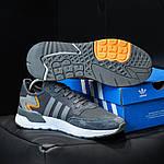 Чоловічі кросівки Adidas Nite Jogger (темно-сірі) D3, фото 8