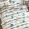 Комплект постельного белья ранфорс 20114