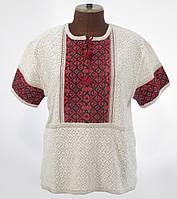 Женская вышиванка короткий рукав