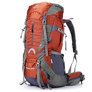 Туристический рюкзак Maleroads 60 литра. Оранжевый.