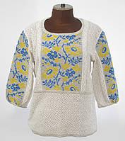 Женская вышиванка в современном стиле