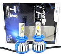Лампа светодиодные  LED   Turbo T1-H4 6000К с вентилятором