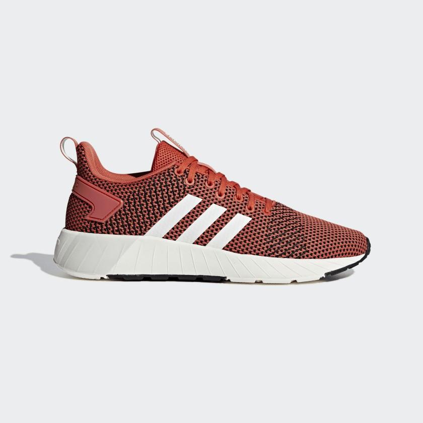Кроссовки мужские оригинальные Adidas Questar BYD красные