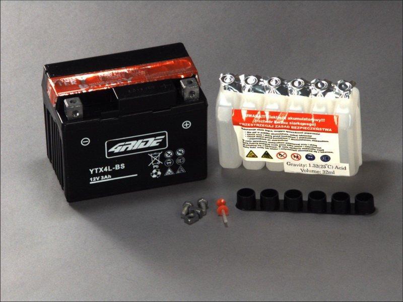 4RIDE YTX4L-BS (33673) Мото аккумулятор