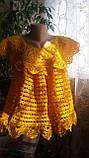 """Туника """"Солнышко"""" - вязаная женская одежда - уникальные изделия - ТМ """"PRIGRIZ"""", фото 3"""