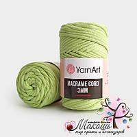 Шнур Macrame Cord 3 мм YarnArt, 755, салат