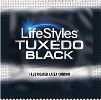 Презервативы LifeStyles Tuxedo (черные)