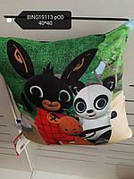 Подушка для мальчиков оптом, Disney, 40*40 см, арт. BING19113-pod
