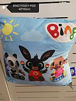 Подушка для мальчиков оптом, Disney, 40*40 см, арт. BING195001-pod