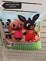 Подушка для мальчиков оптом, Disney, 40*40 см, арт. BING192005-pod