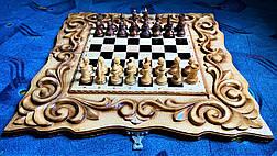 "Шахматы-нарды-шашки 3 в 1 "" Рыцари "", фото 2"