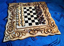 "Шахматы-нарды-шашки 3 в 1 "" Рыцари "", фото 3"