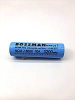Аккумулятор Bossman Profi 18650 3200mAh   ICR18650  3C/10A, фото 1
