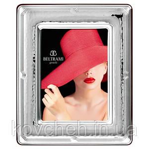 Срібна рамка для фото 10x15