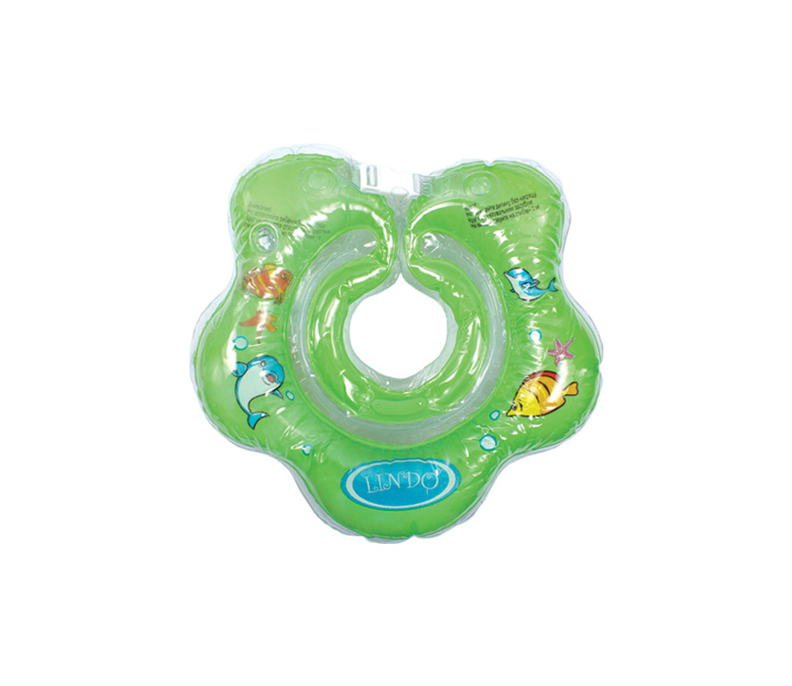 Круг для купания новорожденных Lindo зелёный LN-1561