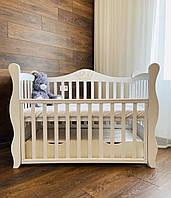 Дитяче ліжечко Angelo Lux-10 Корона Біле, фото 1