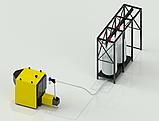 Котел промышленный, твердотопливный, пеллетный 600 кВт, с установкой подачи топлива с хранилища пеллет., фото 2