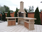 "Бетонный стол-плита для уличного камина-барбекю ""Рио"", фото 5"