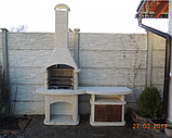 "Бетонный стол-плита для уличного камина-барбекю ""Рио"", фото 7"