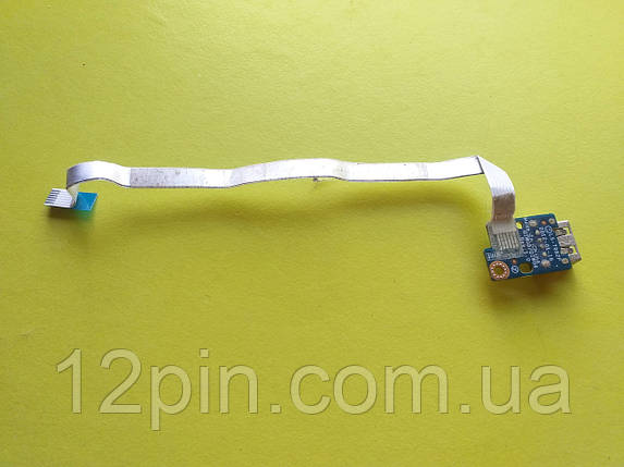 Плата USB Lenovo G580 б.у. оригинал V1, фото 2