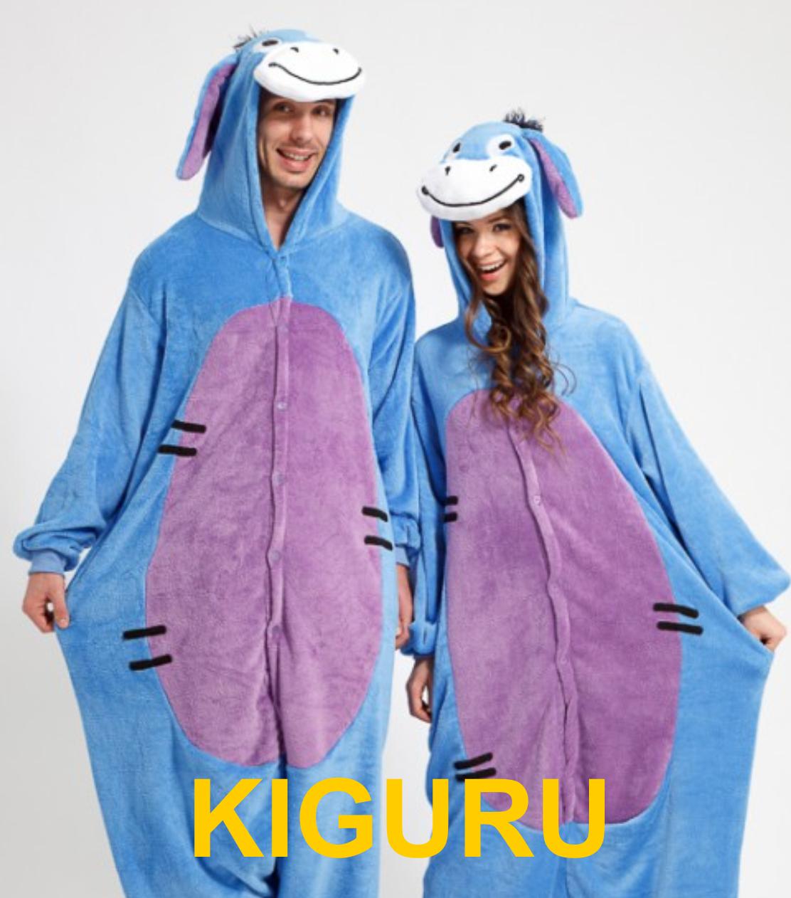 Кигуруми пижама ослик Иа - KIGURU в Киеве 5583eb3f0e74a