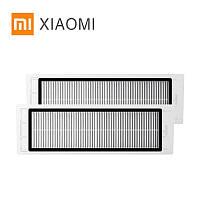 Оригинальный фильтр 2 штуки для робота-пылесоса Xiaomi Mijia / RoboRock S50 S51 S55 S5 Max S6 E20 C10 Xiaowa