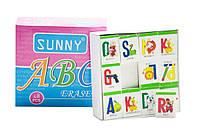 Набор стирательных резинок Английский алфавит 48 штук (108005)
