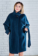 Пальто женское демисезонное в больших размерах, 5 цветов, 032/1