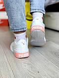Жіночі кросівки Puma Cali White-pink, фото 2