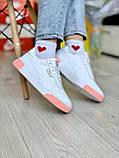 Жіночі кросівки Puma Cali White-pink, фото 3
