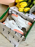 Жіночі кросівки Puma Cali White-pink, фото 4