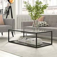 Журнальный, кофейный столик GoodsMetall в стиле Лофт 1100х600х350 ЖС461
