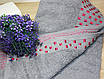 Лицевое турецкие полотенце Темно серый цвет, фото 3