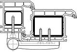 Петля дверная Simonswerk K3135 18-22мм 120кг белая, фото 5