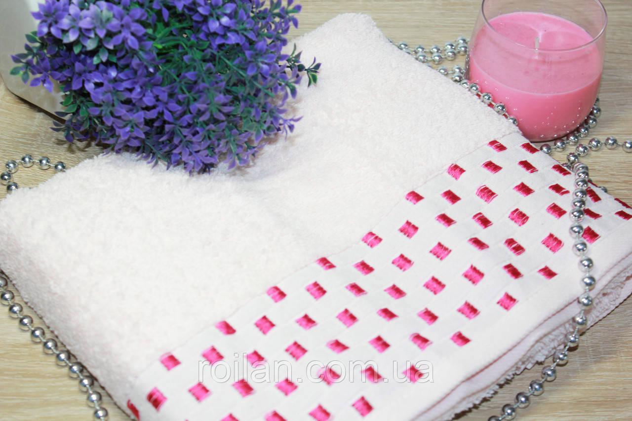 Лицевое турецкие полотенце Розовый цвет
