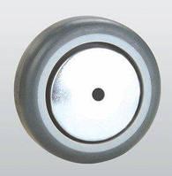 Колесо аппаратное SNB с резиновым контактным слоем и подшипником скольжения 75 мм (31-075х25-P)
