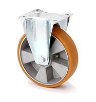 Колесо KAMA поворотное в средне усиленном кронштейне Large 160 мм (4407-ELR-160-B)