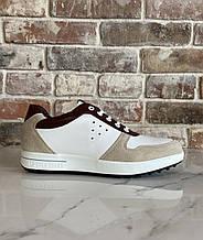 Мужские сникерсы SP Golf Shoes натуральная кожа 45
