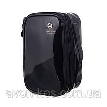 Косметичка- органайзер двухъярусный, сумка для туалетных принадлежностей, дорожный футляр для  аксессуаров,