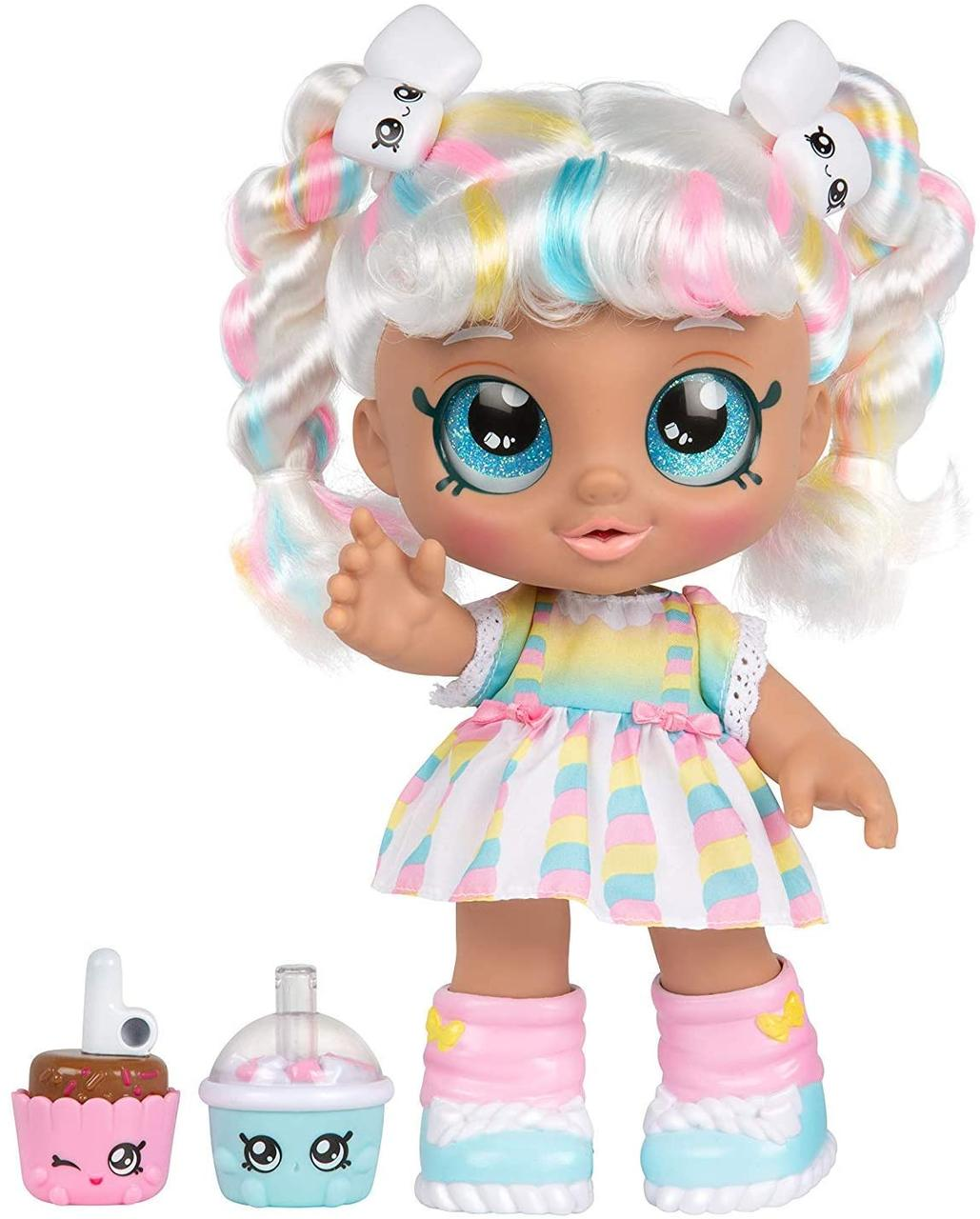 Kindi Kids лялька Кінді Кидс зефирка Маршу Меллоу час друзів Snack Time Friends Marsha Mello
