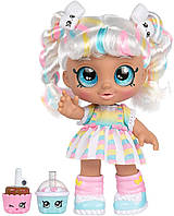 Kindi Kids кукла Кинди Кидс зефирка Марша Меллоу время друзей Snack Time Friends Marsha Mello